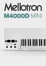 Mellotron M4000D-Mini, White
