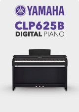 Yamaha CLP625B Digital Piano, Satin Black