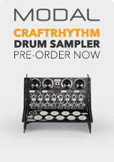 Modal CRAFTrhythm Drum Sampler Exclusive to Gear4music Pre-Order NOW!