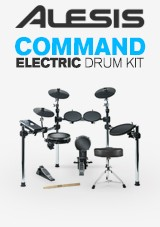 Alesis Command Electronic Drum Kit with Free Sticks and Stool