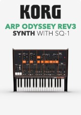 Korg ARP Odyssey Rev3 with SQ-1