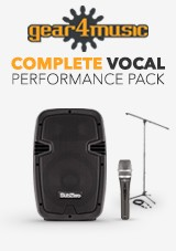 gear4music Complete Vocal Performance Pack